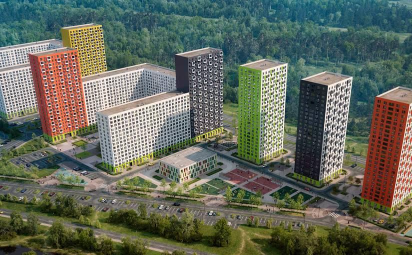ЖК Саларьево парк Москва, цены на квартиры от официального застройщика -  фото, планировки, ипотека, скидки, акции.